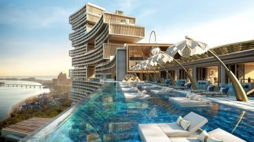 Building Pool View